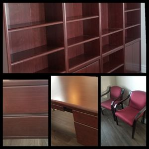 8 piece Office Furniture (not sold separately) for Sale in West Jordan, UT