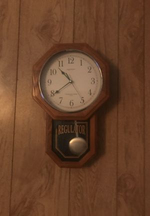 Regulator mini grandfather clock. Vas and local sales only for Sale in San Angelo, TX