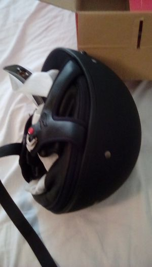 Fulmer Motorcycle 1/2 Helmet Full and 1/2 Visor for Sale in Falmouth, ME