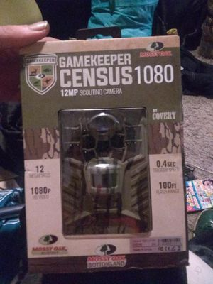 GameKeeper Census 1080 12 MP Scouting Camera by Covert for Sale in Portland, OR