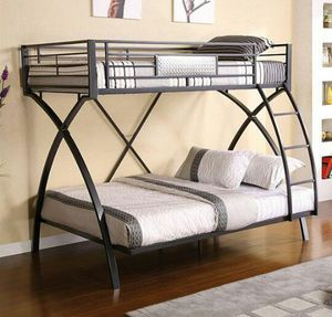 twin/full bunk bed for Sale in Las Vegas, NV