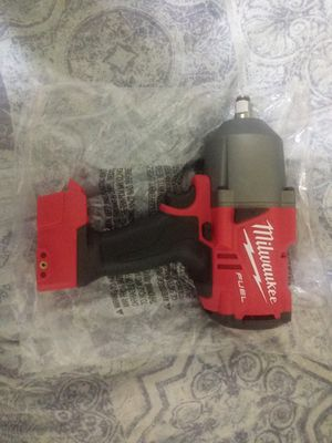 Milwakee 1/2 impact wrench fuel for Sale in Visalia, CA
