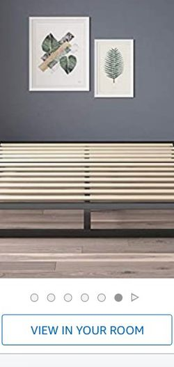 """Metal Platform Bed Frame- 6"""" Tall, Queen Size for Sale in Seattle,  WA"""