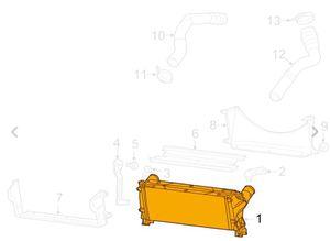 Intercooler Mopar 52014733AC for Sale in North Salt Lake, UT