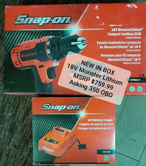 Snap on electric drill power tool for Sale in Phoenix, AZ