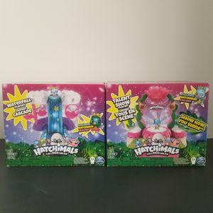 2 hatchimals Colleggtibles playsets for Sale in Hollywood, FL