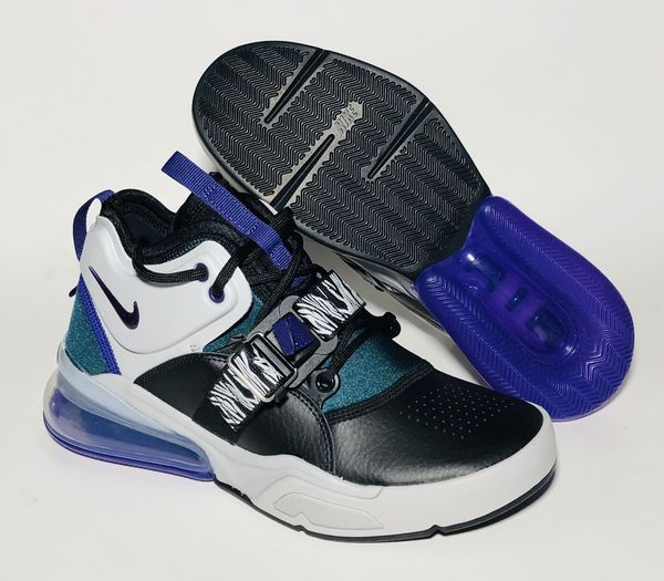 NEW Nike Air Force 270 GS Size 5.5 & 6 Women's 7 & 7.5 Carnivore Black