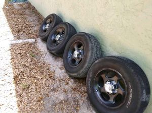 Rims and tires off 2003 explorer for Sale in Venice, FL