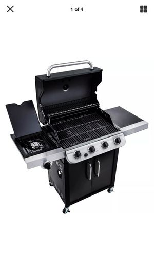 Char-broil 4 burner grill top quality BBQ outdoor patio black for Sale in Mount Juliet, TN