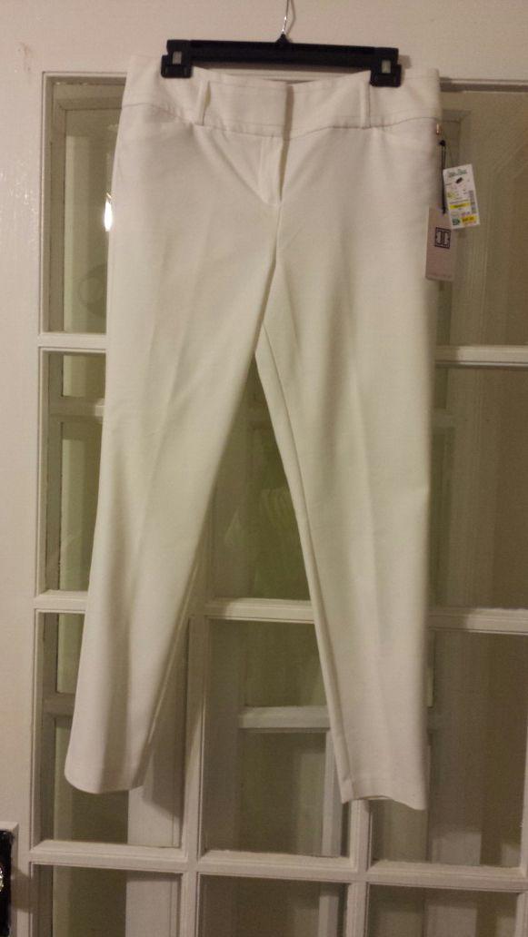 New size 10 white pants -Ivanka Trump