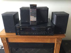 Pioneer Vsx-3800 Audio Video Receiver Included 4 jensen speaker for Sale in Stuart, FL