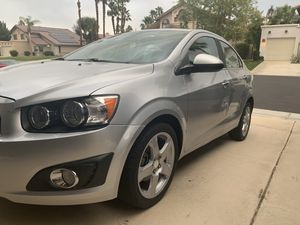Chevy sonic LTZ 2016 clean title automatic great on gas for Sale in La Quinta, CA