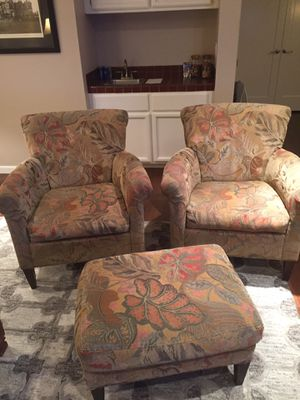 Chairs with ottoman for Sale in Lafayette, CA