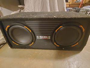 Sdx pro audio speakers for Sale in Hoschton, GA