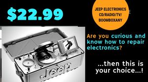 •••JeepElectronics Cd+Radio+TV-Plz SEE CONDITIONS••• for Sale in Maplewood, MN