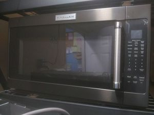 KitchenAID Black stainless steel kitchen appliances and home microwave for Sale in San Diego, CA