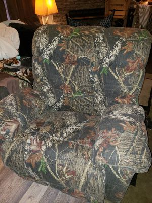 Camouflage recliner for Sale in Snow Camp, NC