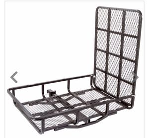 Wheelchair Steel Basket Cargo Carrier with Ramp for Sale in Oakdale, CA