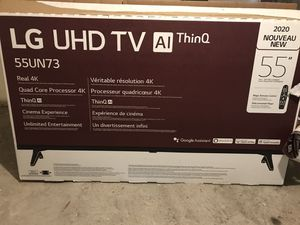 "LG 55"" 4K UHD Smart TV -with Magic Remote for Sale in St. Louis, MO"