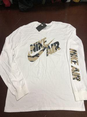 Nike camo longsleeve T-shirt large for Sale in Mechanicsburg, PA