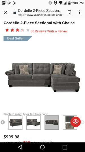 Sectional Couch for Sale in Nottingham, MD