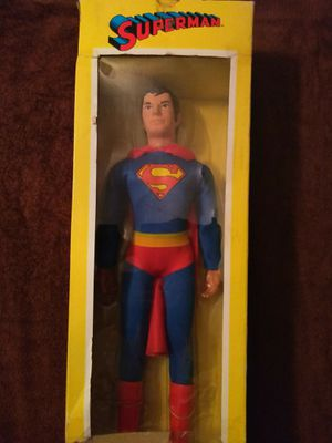 "COLLECTIBLE FIGURES TOY CO. 2015 DC COMICS WORLD'S GREATEST HEROS 18"" MEGOS STYLE SUPERMAN ACTION FIGURE. for Sale in El Mirage, AZ"