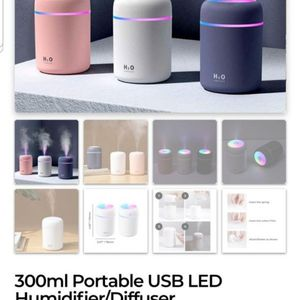 BRAND NEW USB HUMIDIFIERS...USE WITH OR WITHOUT ESSENTIAL OILS... for Sale in Brooklyn, NY