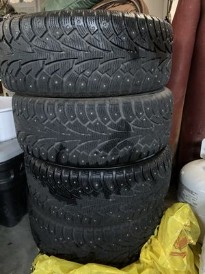 Studded winter tires 225/50R17 94T for Sale in Vancouver, WA