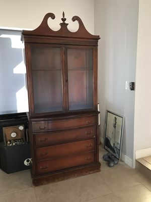 Antique China Cabinet for Sale in Peoria, AZ