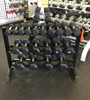 New Dumbbell set with rack for Sale in Phoenix, AZ
