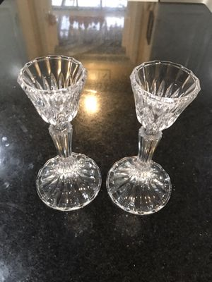 Mikasa Crystal Collection Long Stem Shot Glasses for Sale in Lilburn, GA