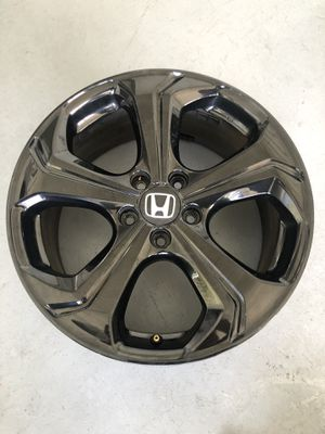 Honda Civic 2015 9th Gen Si Rims Original Black OEM Rims Only No Tires In Excellent Conditions Size 18inch pattern 5 114.3 CASH ONLY for Sale in Miami, FL