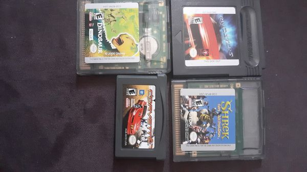 3 Gameboy Color Games 1 Gameboy Advance Game