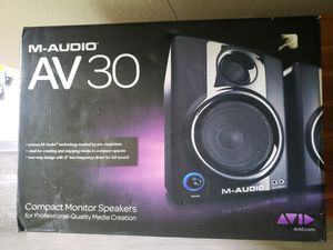 [Mint] M Audio AV30 Pro Monitors Speakers for Sale in Houston, TX