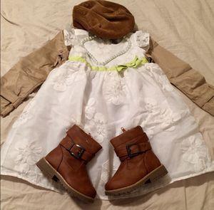 3T Gymboree White Flower Lace Formal Dress for Sale in Bountiful, UT