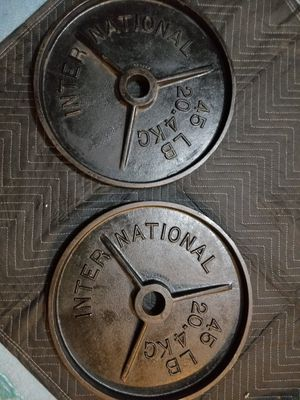 45 pound Olympic weights for Sale in Hayward, CA