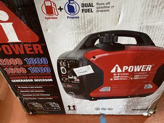 Brand New Ipower 2000 watts Dual Fuel Inverter Generator Only Asking $450 Ultra Quite for Sale in La Habra,  CA