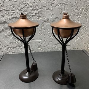 Table Metal Torch Copper for Sale in Hollywood, FL