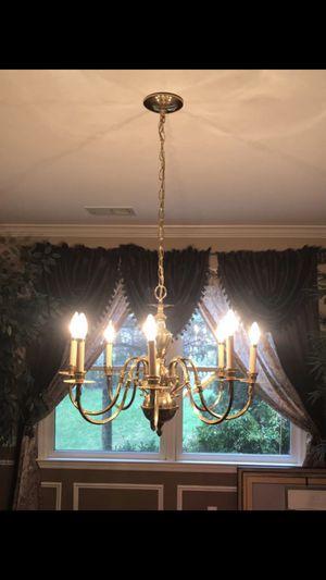 Brass Uplight Chandelier for Sale in Lexington, KY