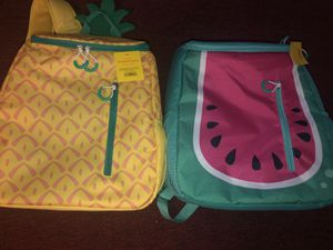 Sun Squad PineappleWatermelon Backpack Cooler Insulated Liner 20-can Bundle. for Sale in Gurnee, IL