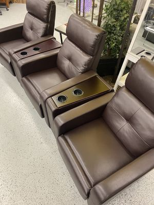 Furniture mattress- 🎃movie theatre recliners 🎃 for Sale in North Highlands, CA