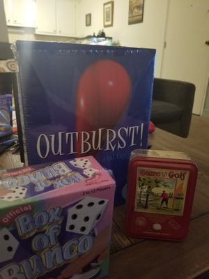 Three Unopened Games! for Sale in North Andover, MA