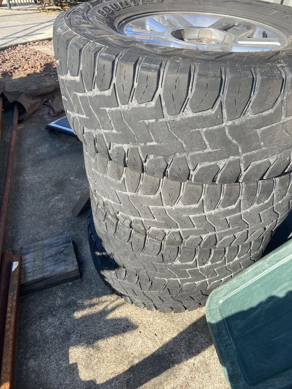 Stock 2008 Ford F-150 Wheels with toyo rts 35s