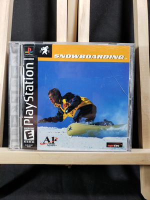 Playstation snow boarding game for Sale in South Zanesville, OH
