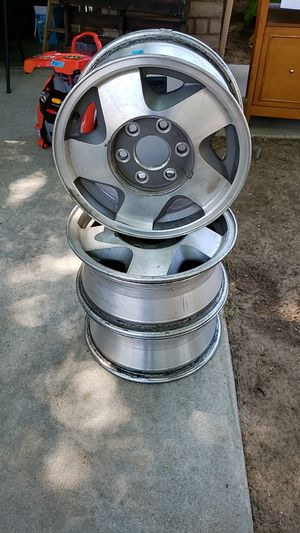 "16"" Stock Chevy 6 lug rims for Sale in Fresno, CA"