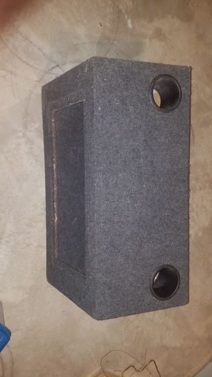 Subwoofer box for Sale in Crystal Lake, IL