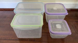 Plastic Food Storage Set-4 for Sale in Vienna, VA