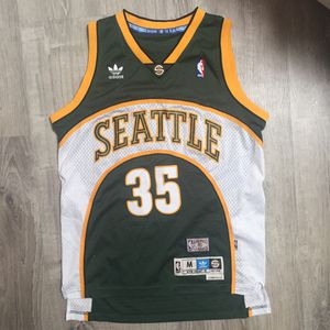 Adidas Seattle Supersonics Kevin Durant NBA Jersey for Sale in Willseyville, NY