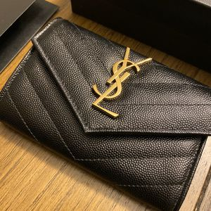 Authentic YSL monogram small wallet for Sale in Glendale, AZ