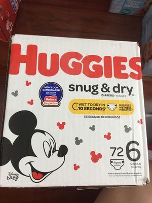 Huggies snug and dry size 6 for Sale in Philadelphia, PA